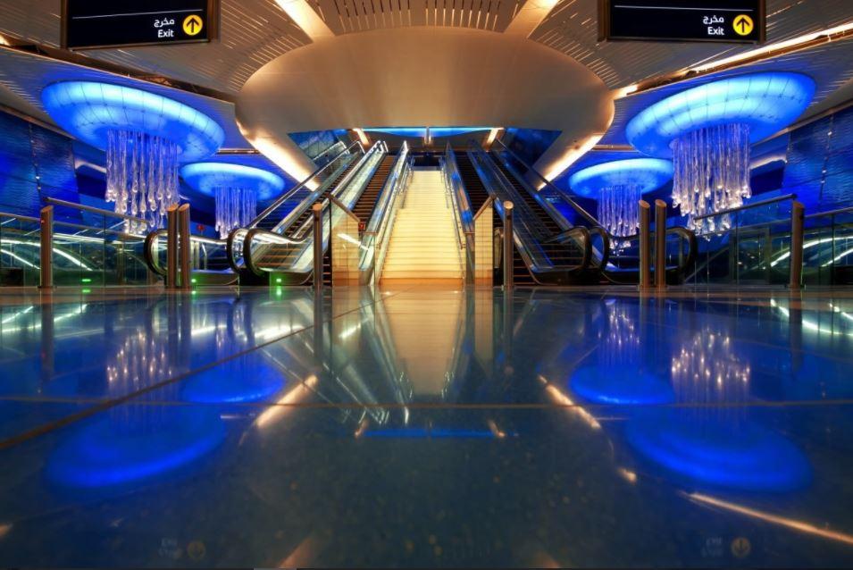 Metro Station Inside