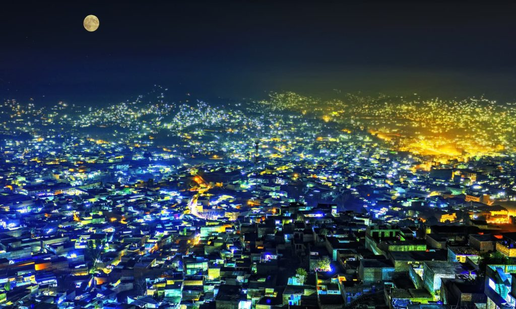 Mingora at Night