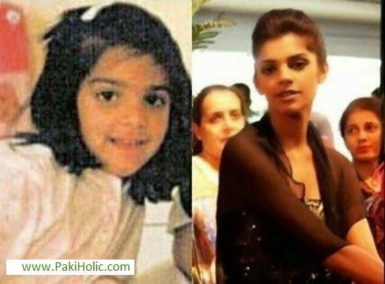 100 Childhood Pictures of Pakistani Celebrities | Paki Holic