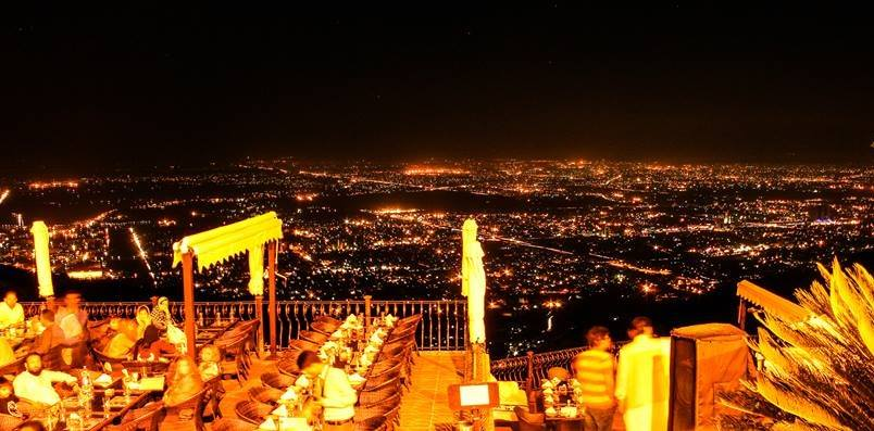 Monal Night View