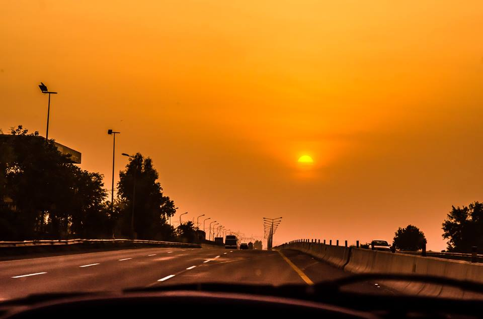 16 - Motorway M2 Sunset - Photo Credits - Asim Mughal