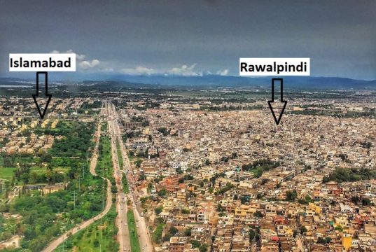 Islamabad Aerial View