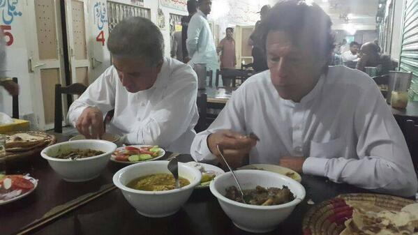 Imran Khan Iftari