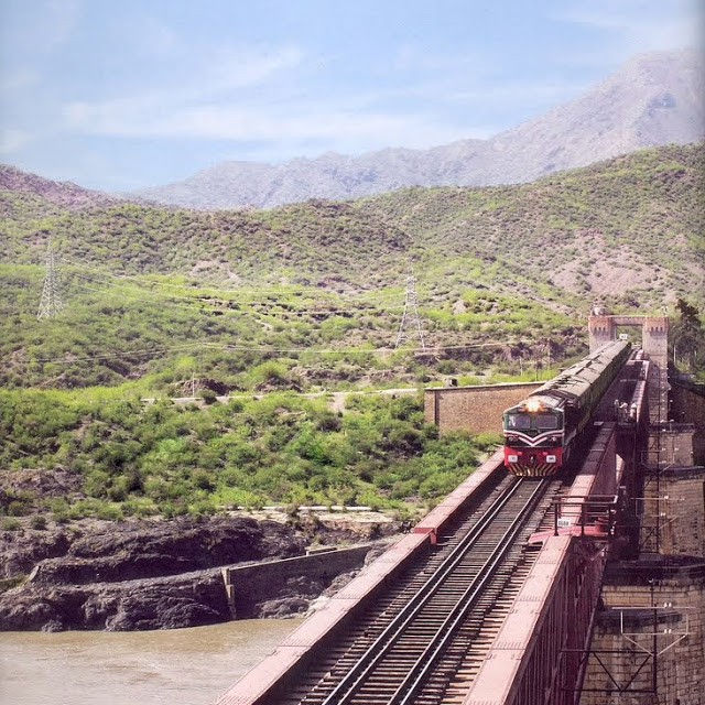 1 - Bridge at River Indus, Attock Khurd Railway Station