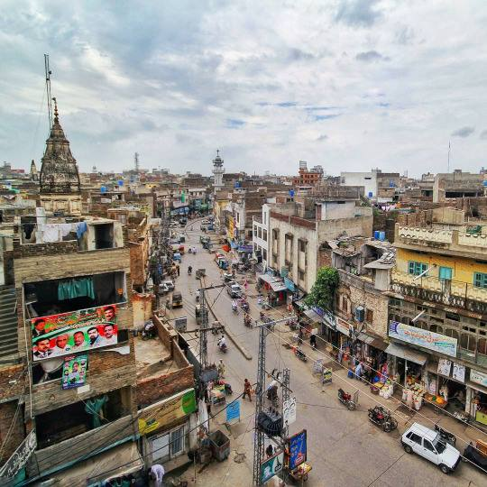 1 - View from the rooftop of Lal Haveli - Rawalpindi