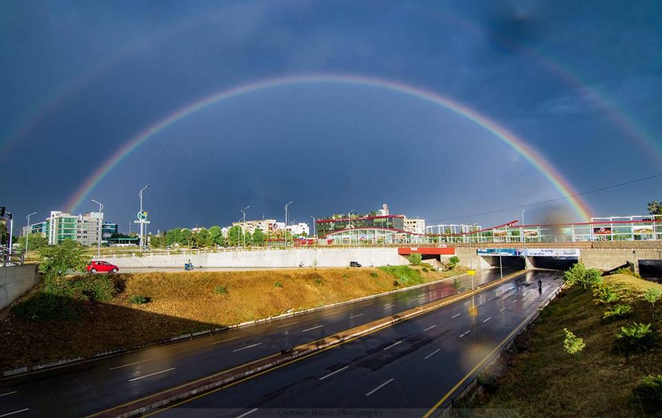 10 - Rainbow - Qammer Wazir