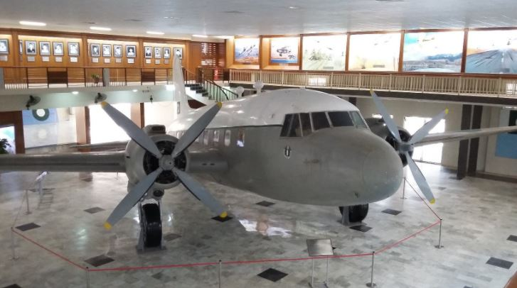 10 - This Aircraft Was In Quaid e Azam's Personal Use Till His Last Air Travel to Karachi From Quetta in September 1948. Now it is on Display in PAF Museum, Karachi