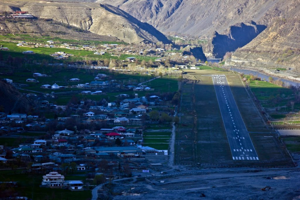 11 - Chitral Airport Picture
