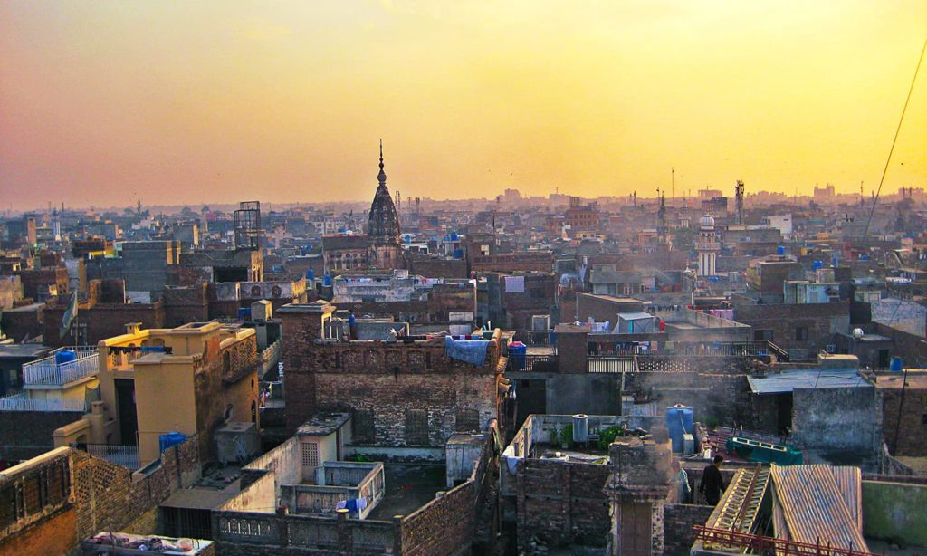 11 - View of Old Rawalpindi City from Sujan Singh Haveli