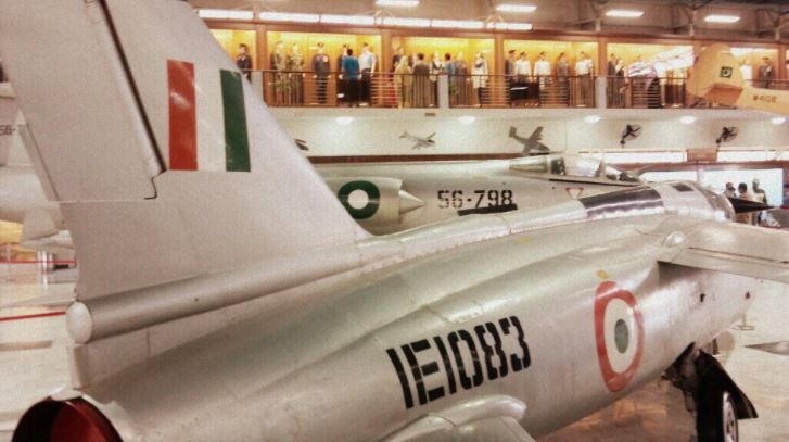 12 - Captured IAF GNAT at PAF Museum Karachi, it was forced landed by Flt Lt Hakeem Ullah at Pasrur during