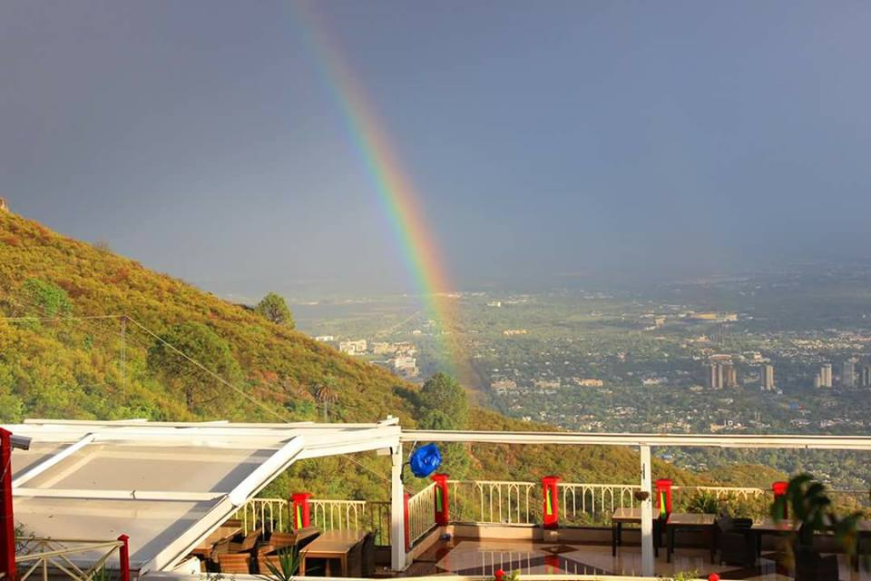 12 - Rainbow from margalla hills