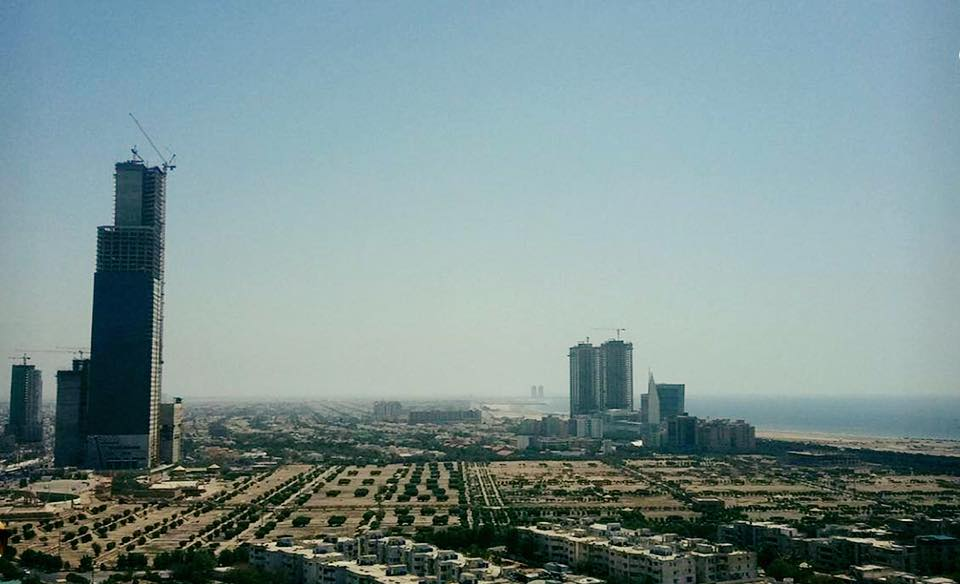 12 - The emerging skyline of Karachi