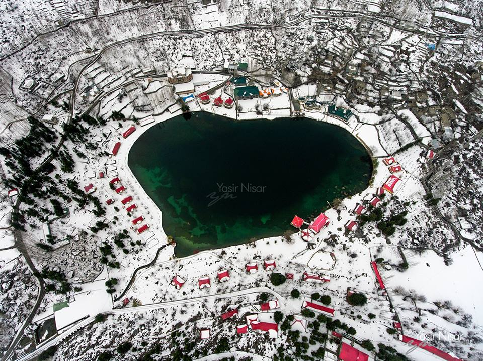 15 - Shangrila Resort and Lower Kachura Lake after the heavy snow fall in Skardu