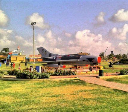 18 - PAF Musuem Karachi View
