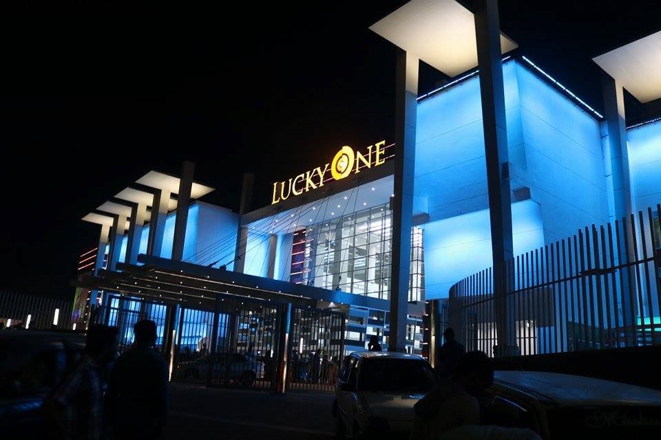 19 - Lucky One Mall Night View