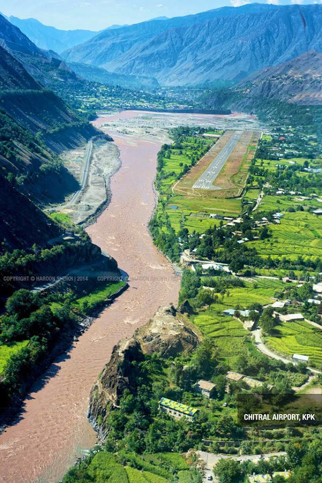 2 - Chitral Airport 3 -