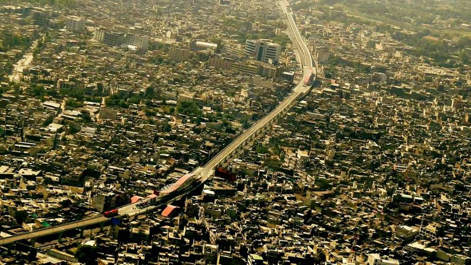 2 - Spectacular Aerial View of Murree Road - Rawalpindi