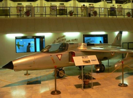 20 - Indian War Plane Captured During 1965 War on Display in PAF Musuem Karachi