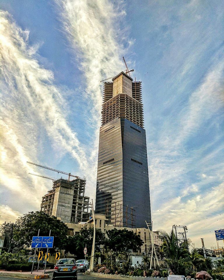 3 - Bahria Icon Tower - The tallest building of Pakistan in Karachi