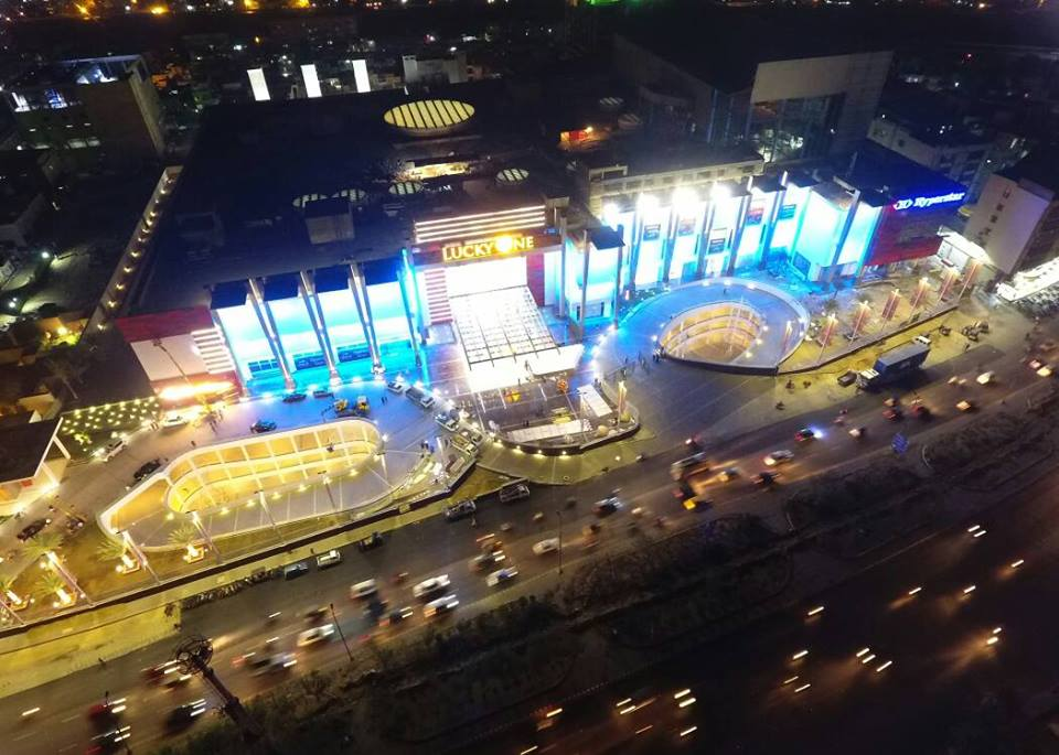 3 - Lucky One Mall Aerial View