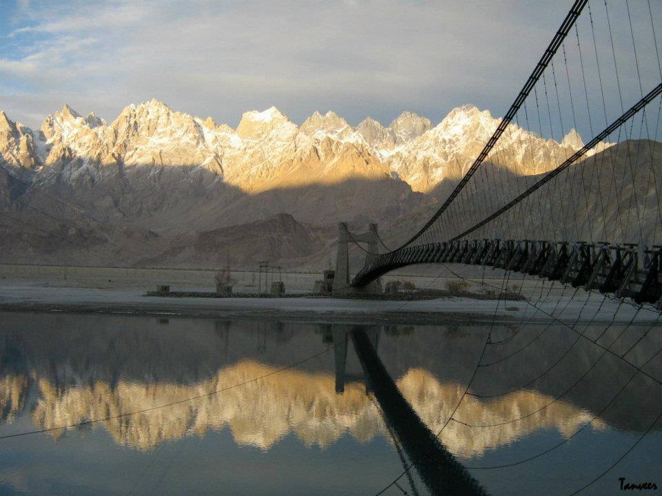 3 - The bridge on the way to Hushe Valley Near Khaplu-Sailing -