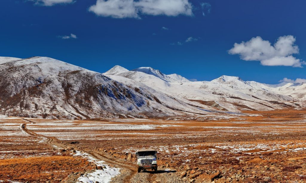 31 - Jeep Road Near Deosai - S.M.Bukhari