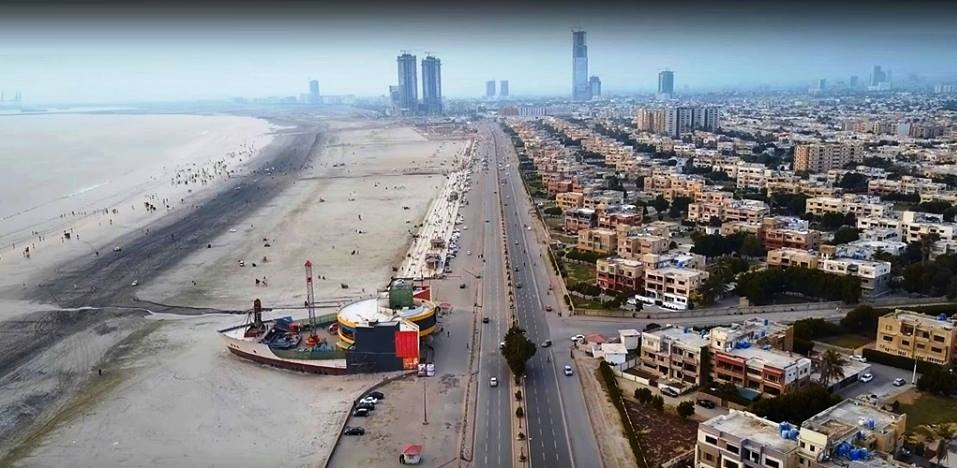 4 - A Spectacular View of Sea View - Karachi - The Skyline of Karachi is getting better and better day by day