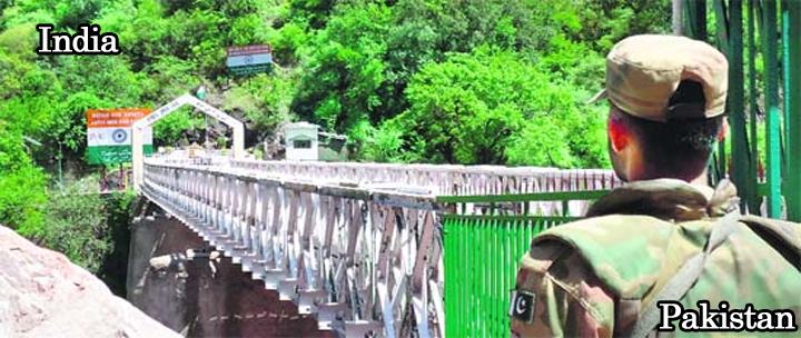 5 - LoC at Chakothi - Kashmir