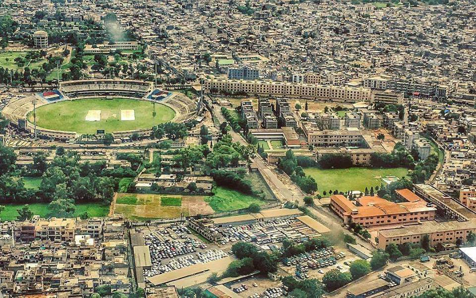 51 - A Wonderful Aerial View of Rawalpindi Cricket Stadium