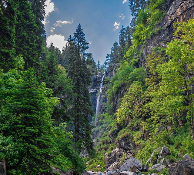 7 - Jarogo Waterfall, Swat Valley
