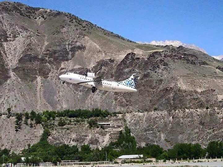 9 - ATR Plane - Chitral Airport - 16