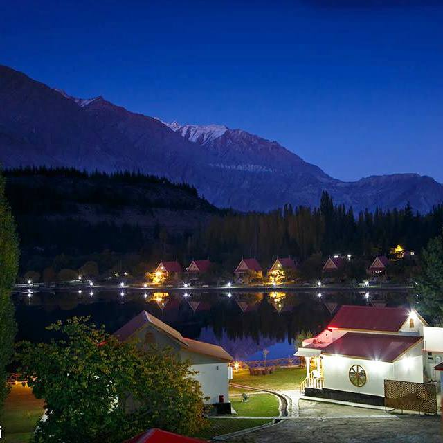 9 - Beautiful Night at Lower Kachura Lake - Shangrilla