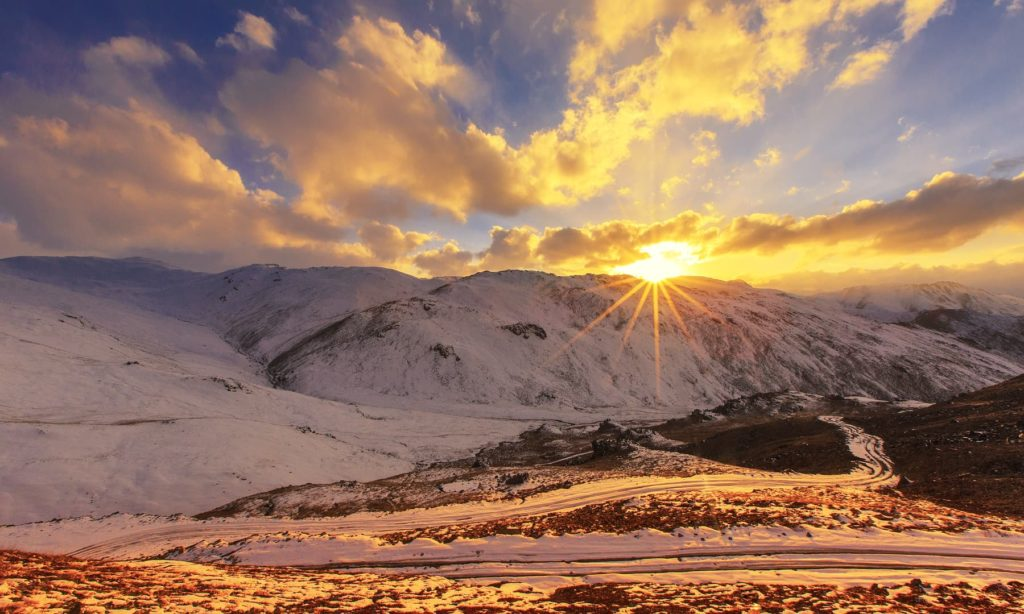 9 - Sunset at Chillam in Deosai National Park - S.M.Bukhari