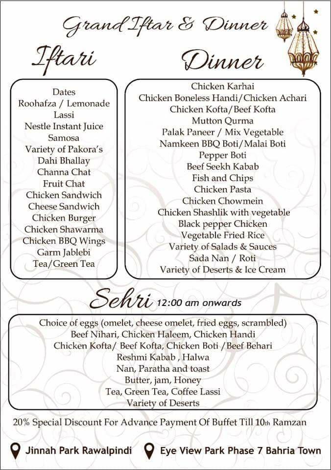 Diva Restaurant - Bahria Town - 1349