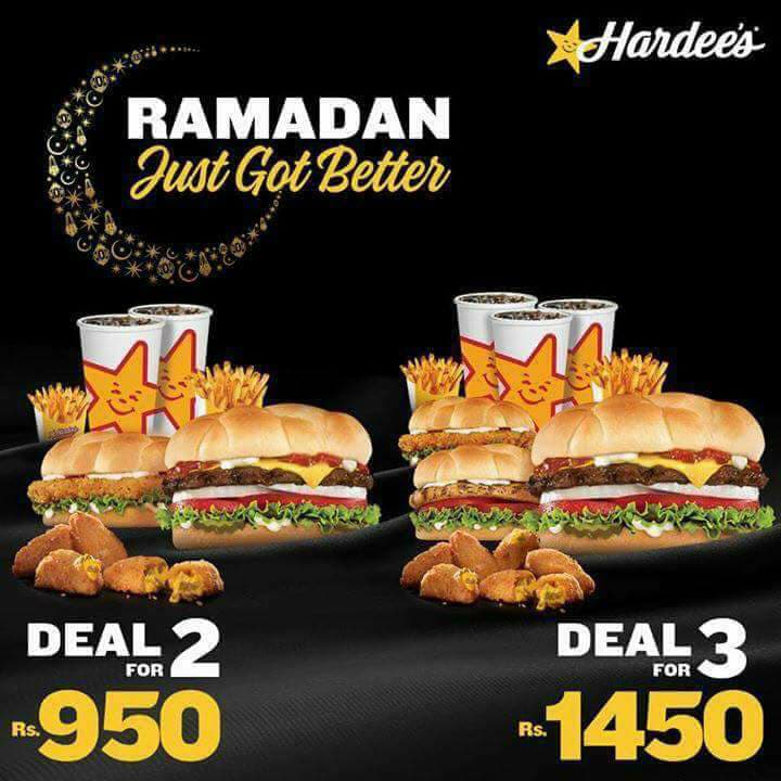Hardees - 950 and 1450