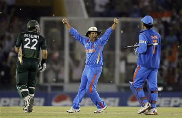 India Pakistan World Cup 2011