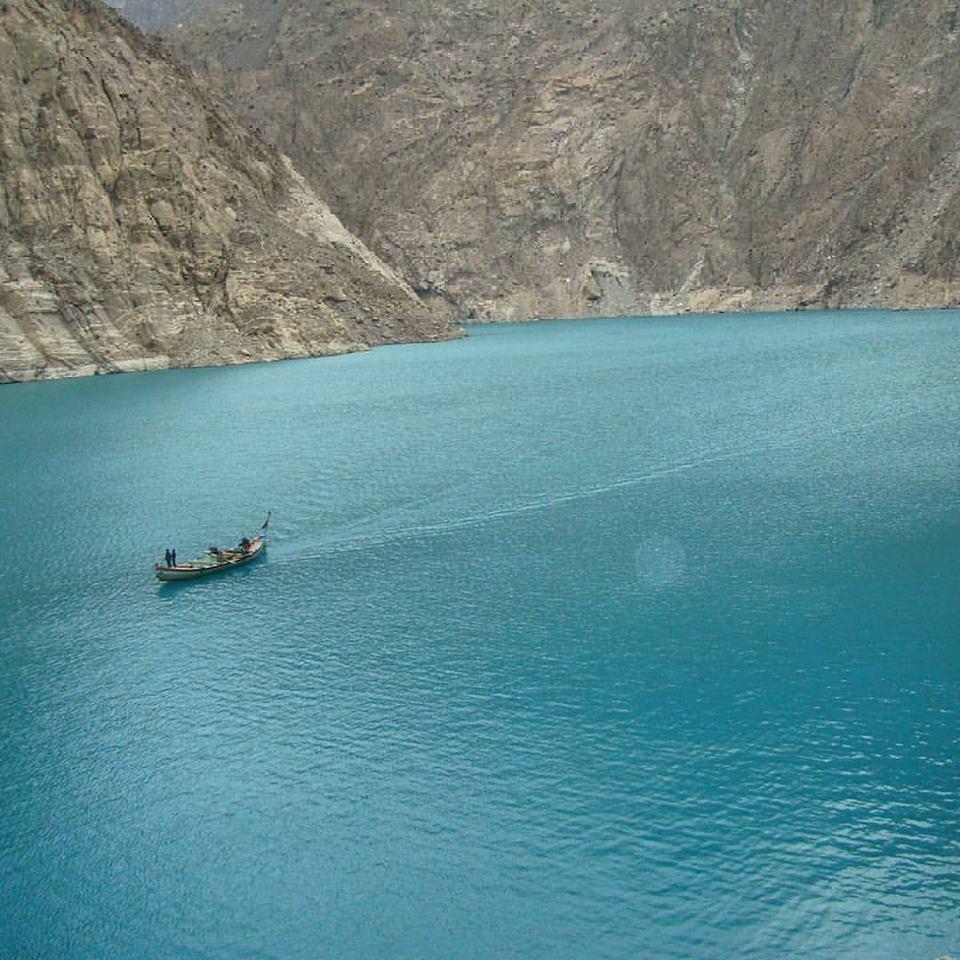 1 - Attabad Lake, #GB -
