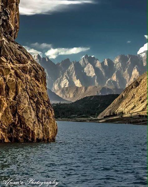 10 - Beautiful Attabad lake , Hunza valley Pakistan