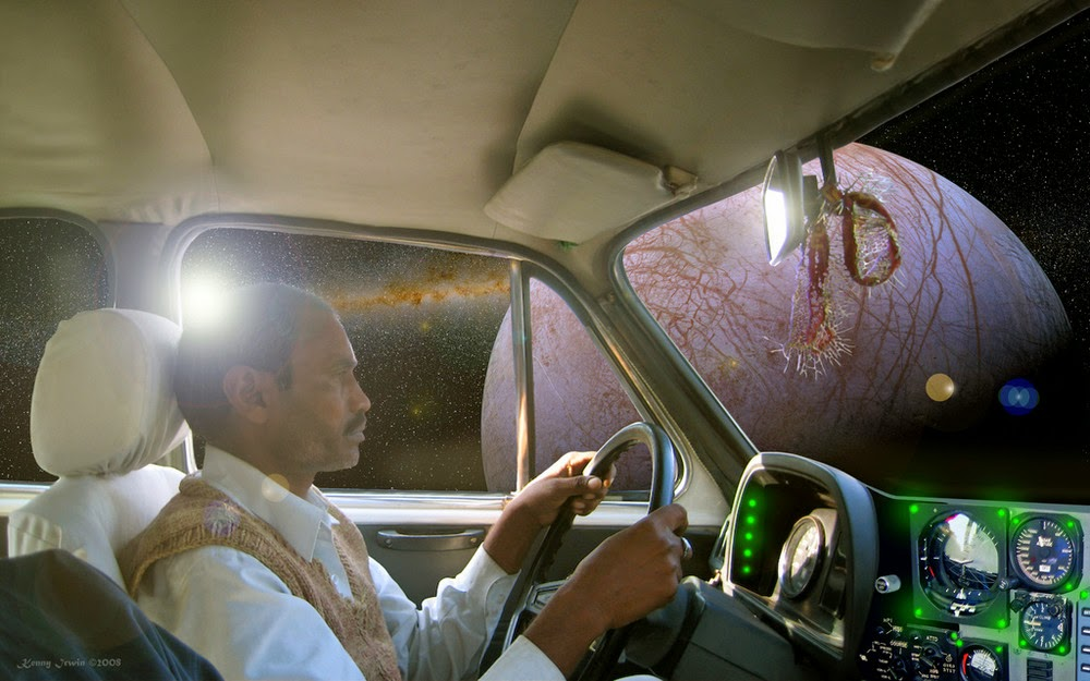 10 - Pakistani Taxi Driver Going From One Planet to Another