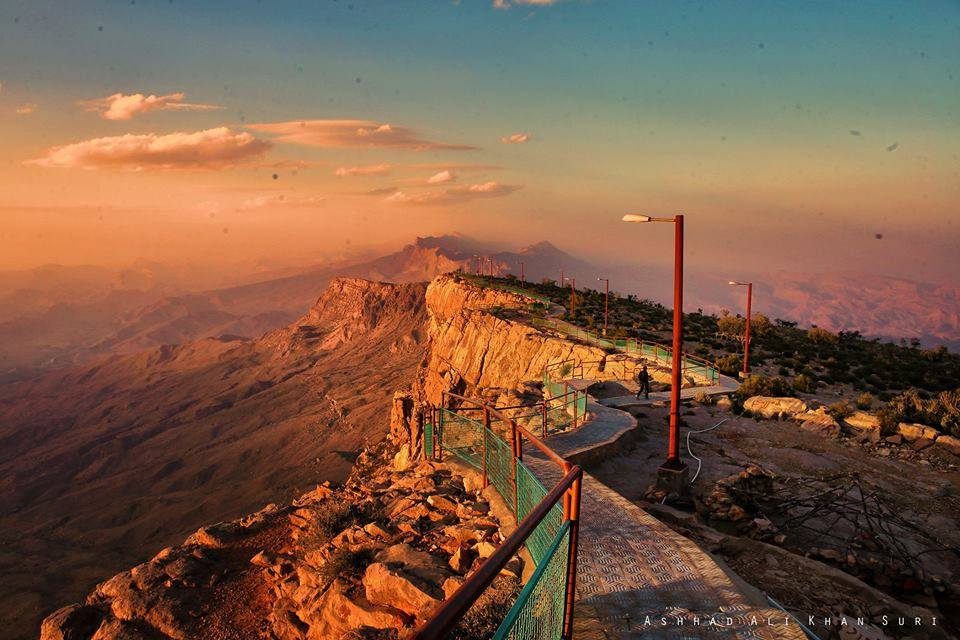 13 - Sunset at the Gorakh Hill Station