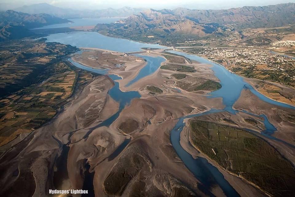 15 - Tarbela Dam aerial view