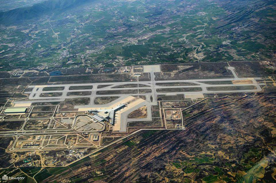 19 - Aerial View of New Islamabad International Airport