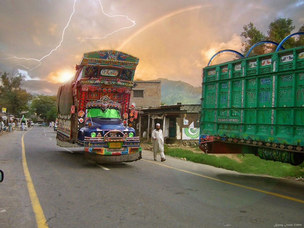 2 - Traditional Pakistani Trucks in Future