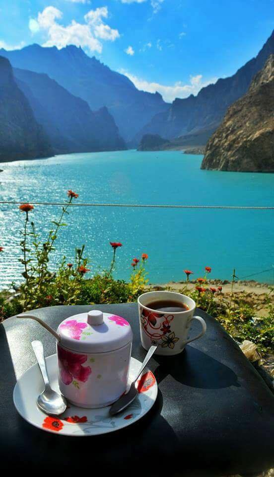 20 - Who Wouldnt Want A Cup of Tea With A View Like This - Attabad Lake