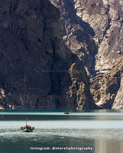 22 - Boating at Attabad lake, Hunza Gilgit Baltistan