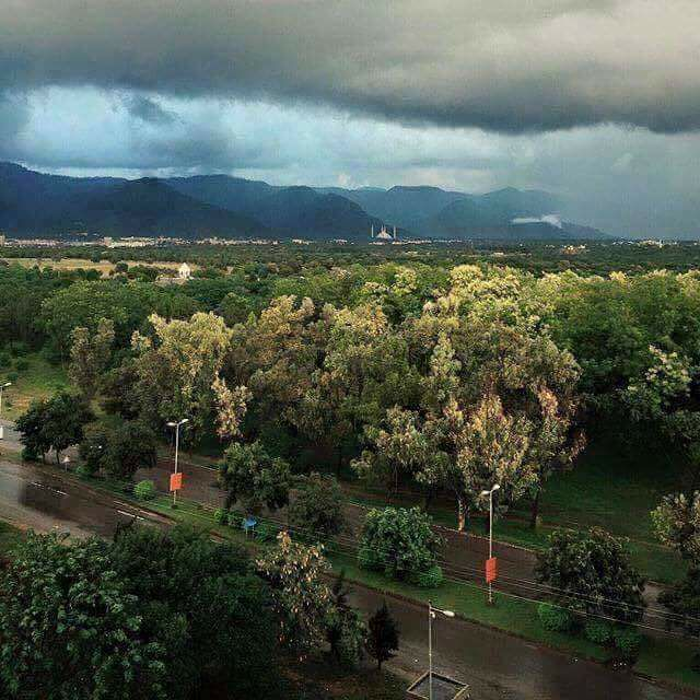 23 - A Beautiful View of Islamabad From Silver Oaks
