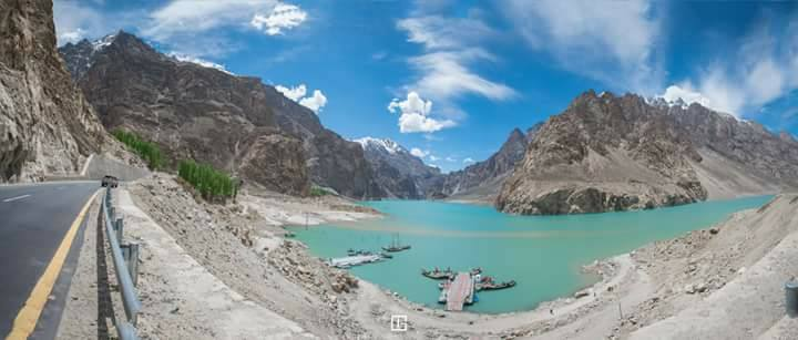 3 - Attabad Lake Panorama View