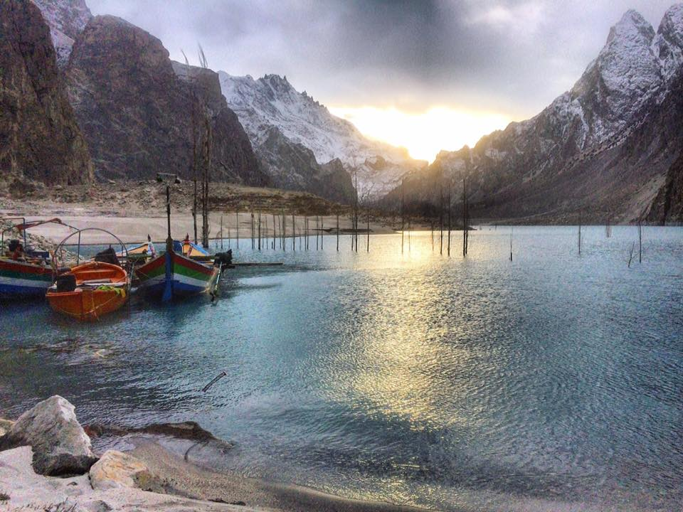 8 - Winter Ride at Attabad Lake