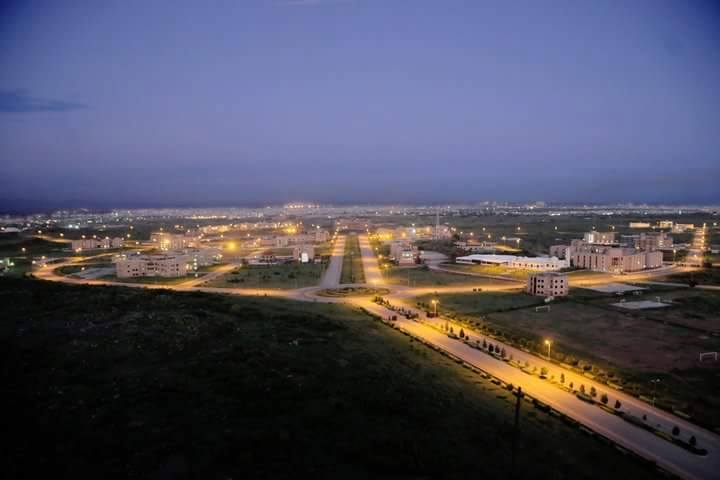 9 - Nust Islamabad Campus Night View