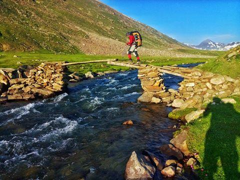 Dudiput sar lake track... Near Mulla Ki Basti